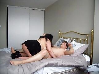 Trinity cute 21st b-day boy rim tit ass & dick face slap bj